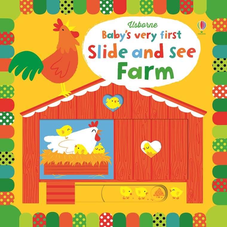 EDC/Usborne First Slide and See Farm
