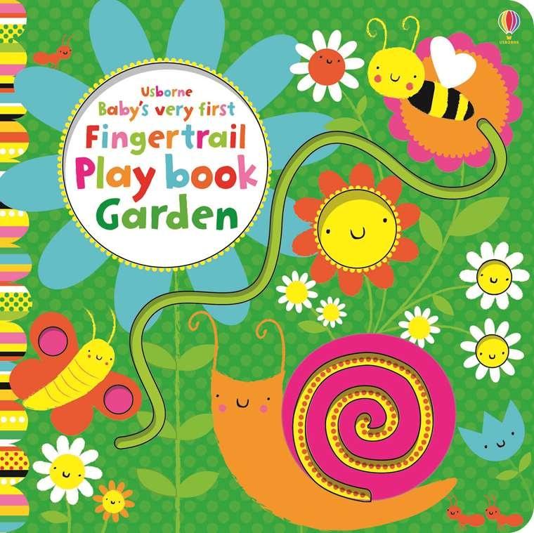EDC/Usborne Baby's First Fingertrail Garden Book