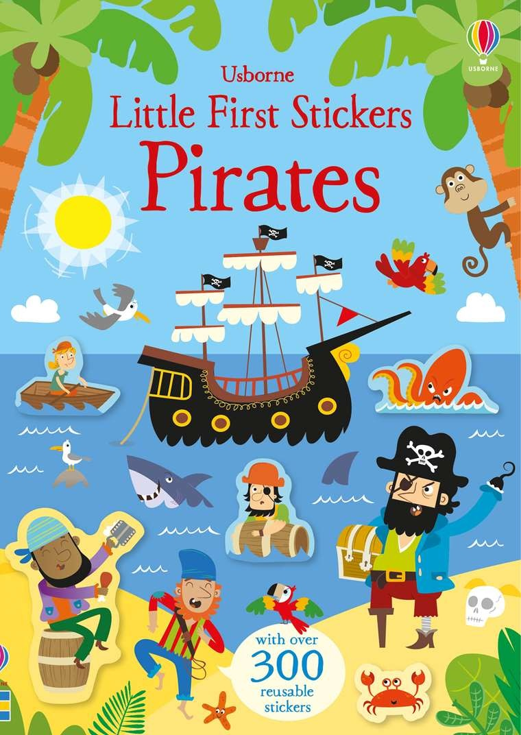 EDC/Usborne Little Stickers Pirates