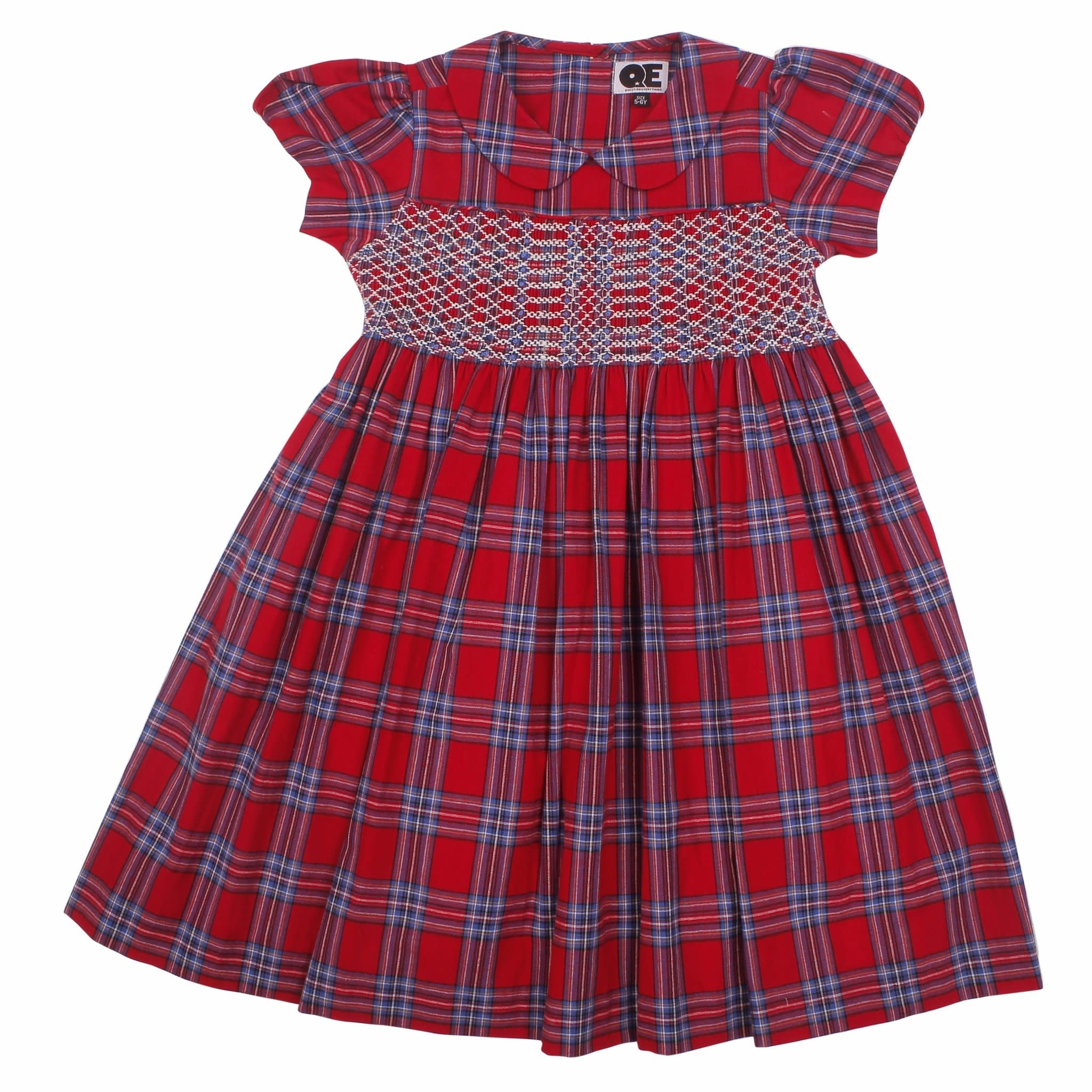 Question Everything Liv Plaid Dress
