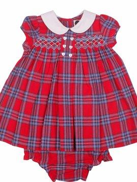 Question Everything Olivia Plaid Dress
