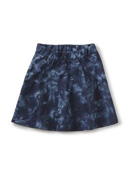 Tea Collection Blue Tie Twirl Skirt