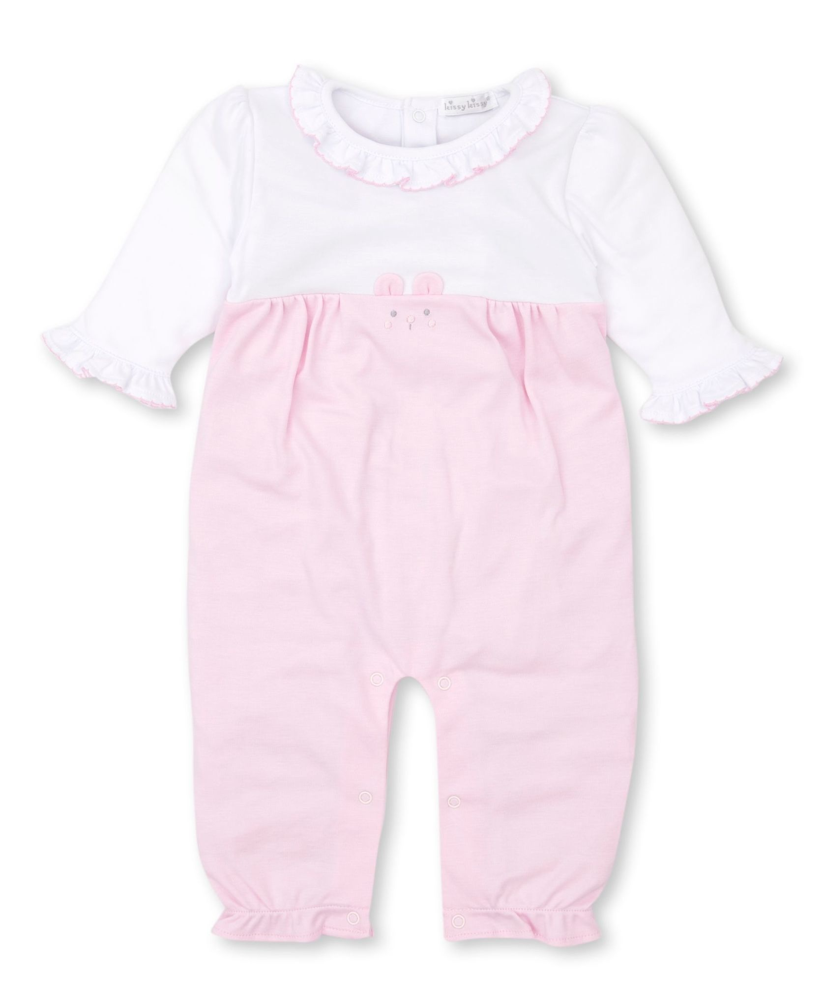 Kissy Kissy Pink Bearly Believable Playsuit