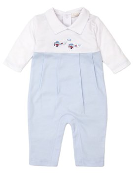 Kissy Kissy Embroidered Plane Playsuit