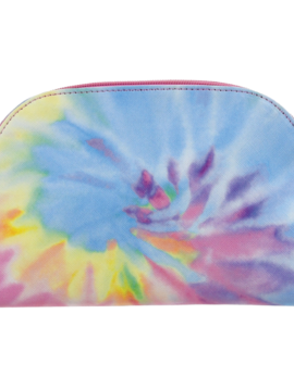 Iscream Tie Dye Oval Cosmetic Bag