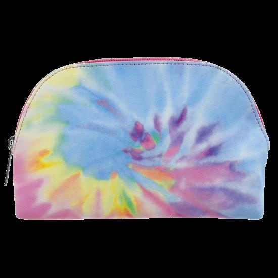 Iscream Tie Dye Oval Cosmetic Bag