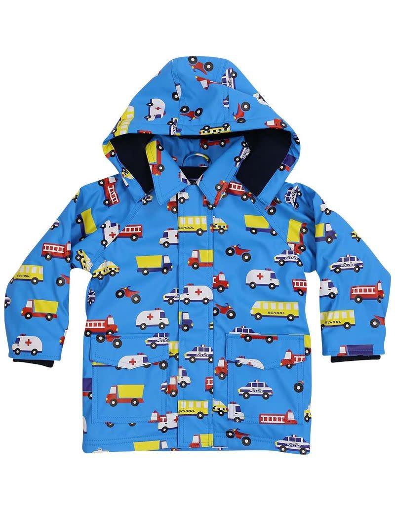 Korango Fleece Lined Raincoat