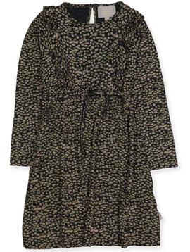 Creamie Black Leo Dress