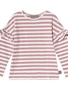 Creamie Mauve Stripe T-Shirt