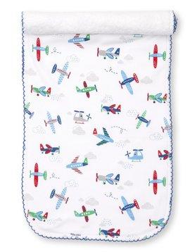 Kissy Kissy Awesome Airplanes Burp Cloth