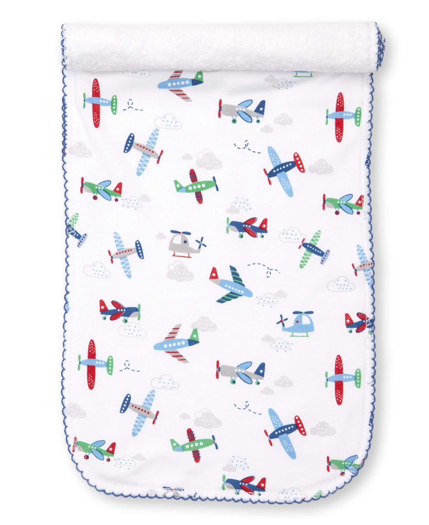 Kissy Kissy Awesome Airplanes Burp Cloth