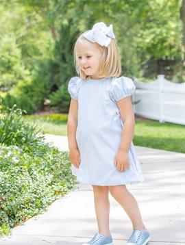 James and Lottie Blue Bows Cece Dress