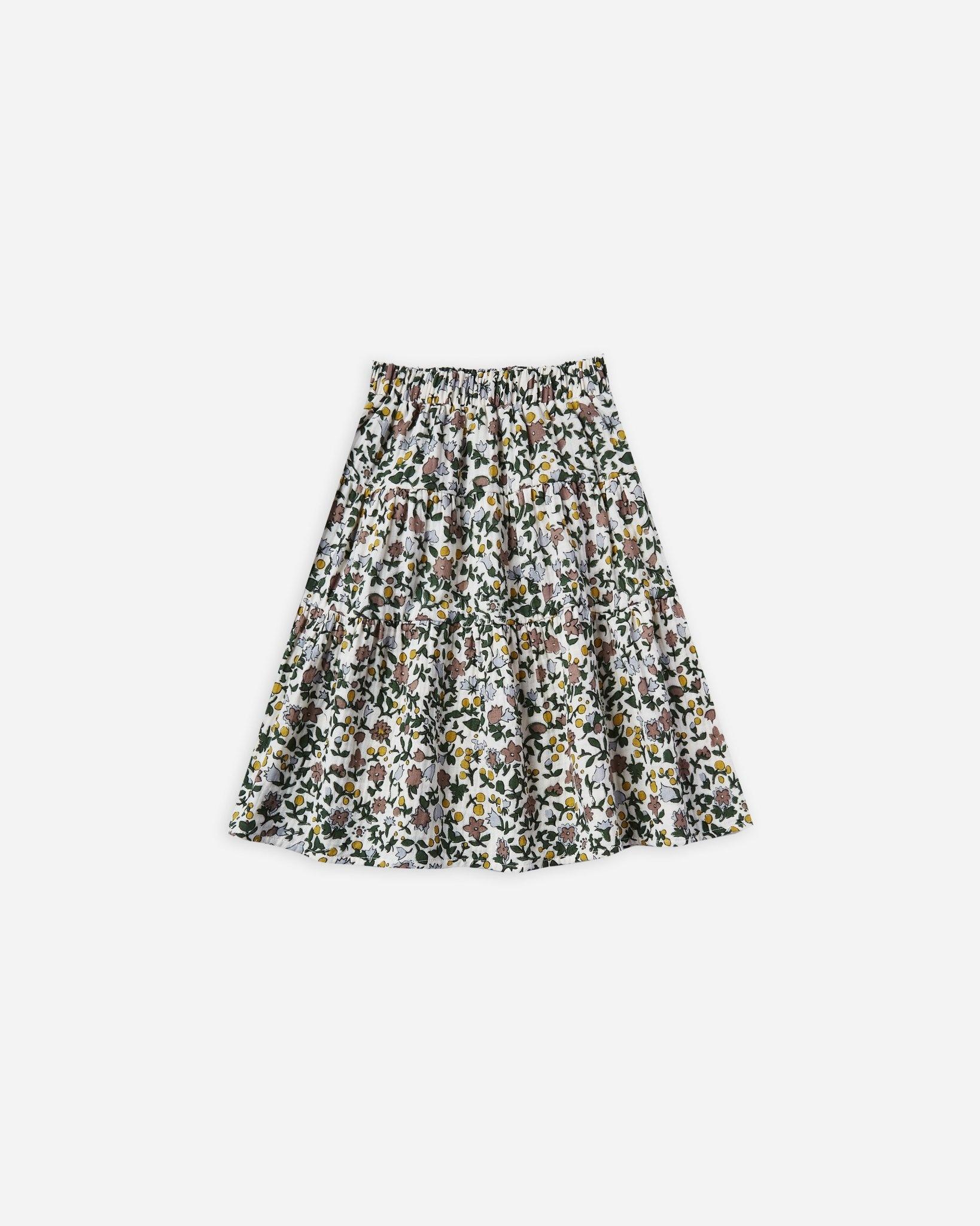 Rylee & Cru Enchanted Garden Maxi Skirt