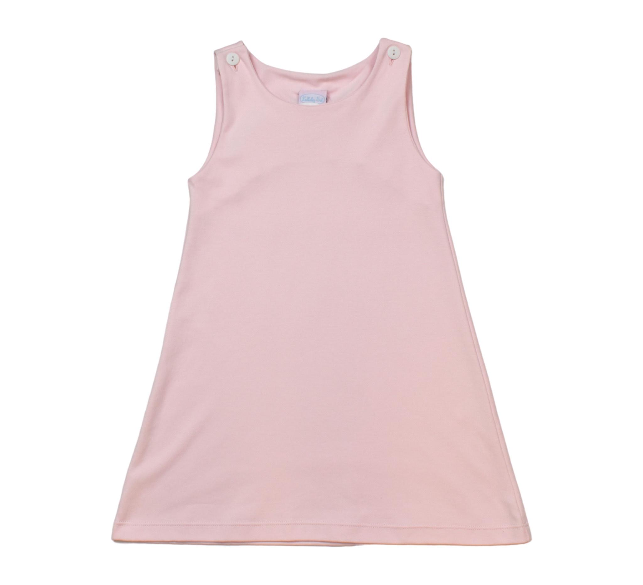 Lullaby Set Pink Pima Jumper