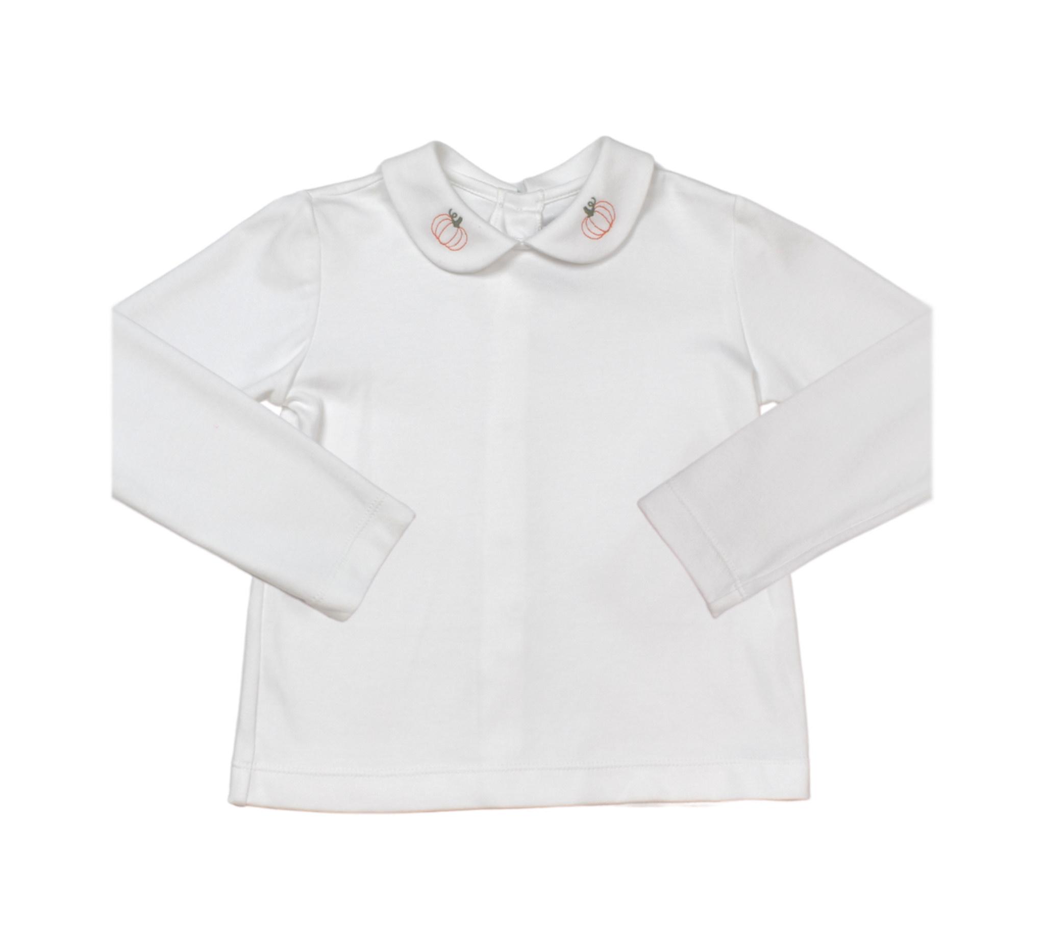 Lullaby Set Boy's Pumpkin Shirt