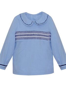 Lullaby Set Sibley Smocked Shirt