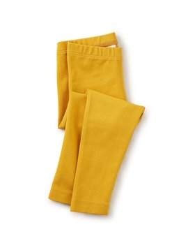 Tea Collection Golden Yellow Solid Leggings
