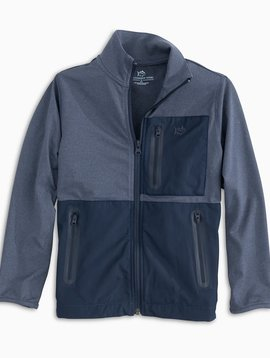 Southern Tide Sea Foam Performance Full Zip