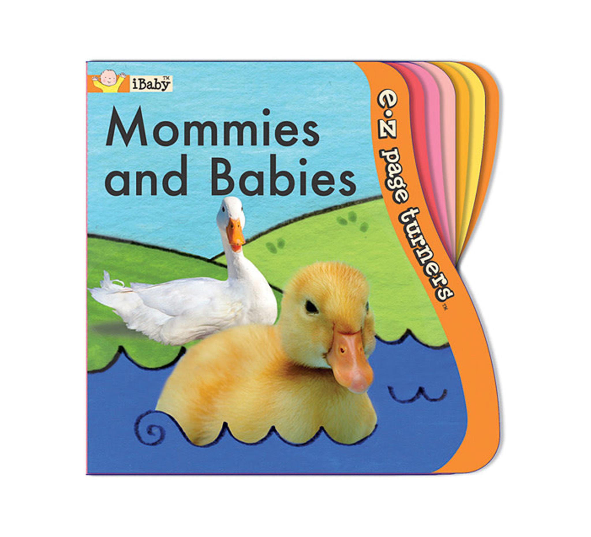 Innovative Kids Mommies and Babies EZ Turn Book