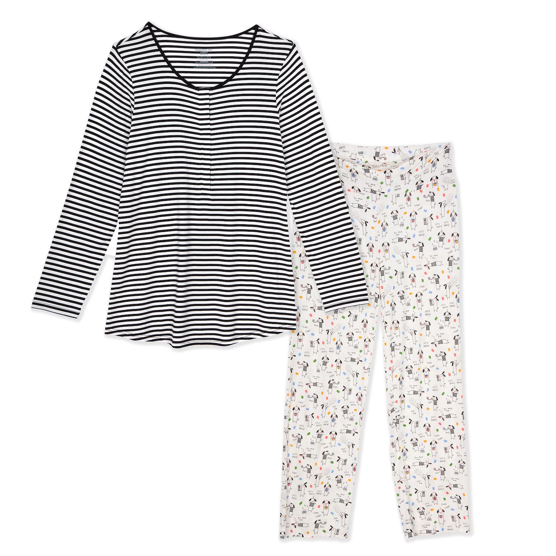 Magnificent Baby Nursing Pajama Set