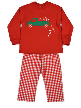Funtasia Too Candy Cane Truck Pant Set