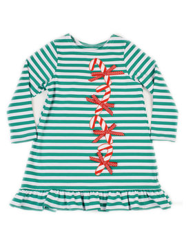 Funtasia Too Candy Canes Knit Dress