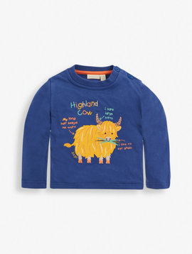 JoJo Maman Bebe Highland Cow Top
