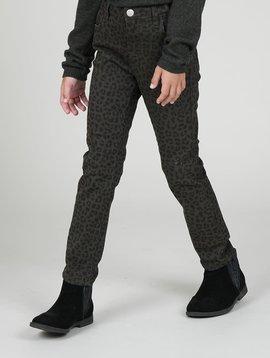 Mini Molly Leopard Slim Fit Pants