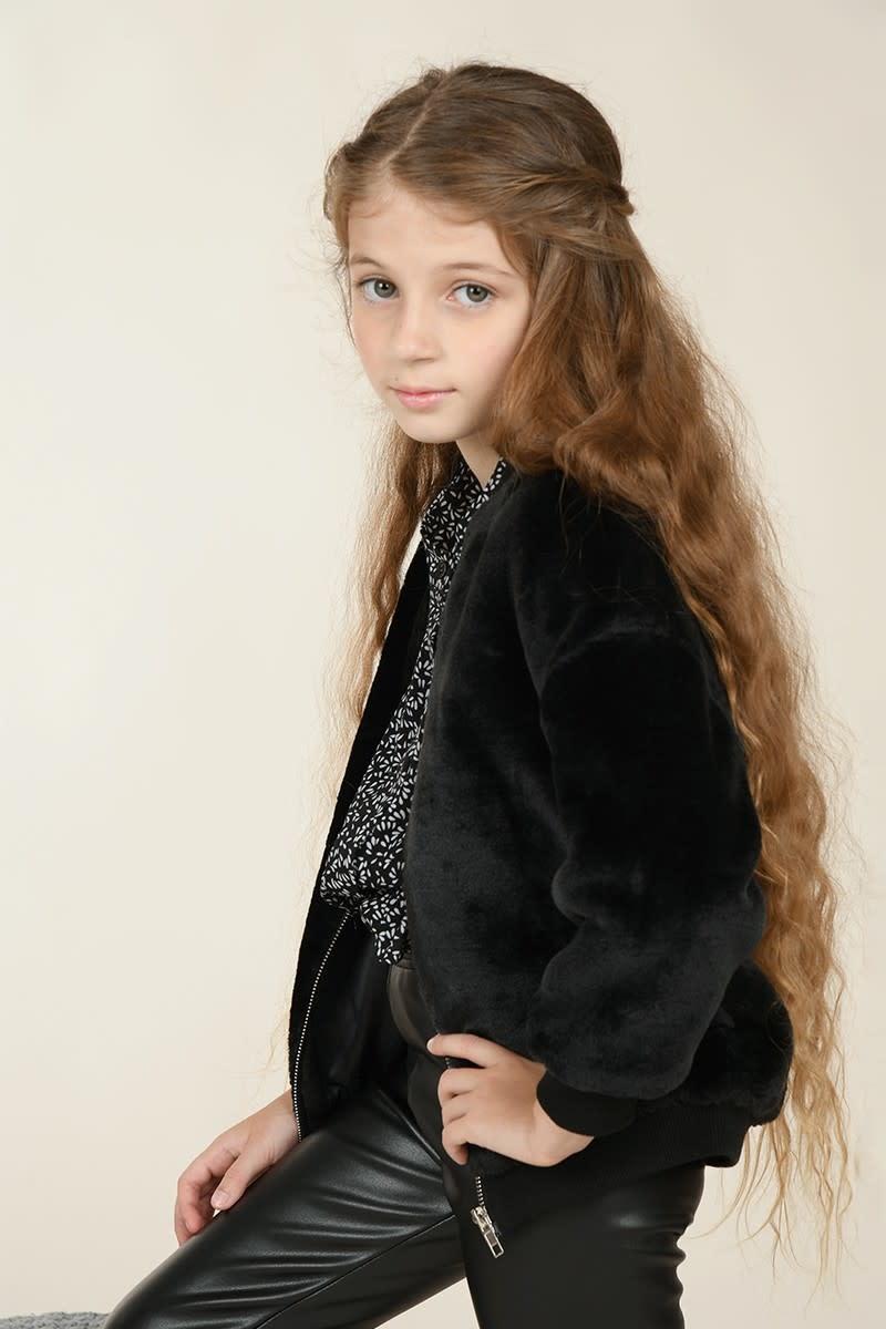 Mini Molly Faux Fur Jacket