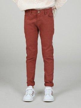 Mini Molly Rust Slim Fit Pants