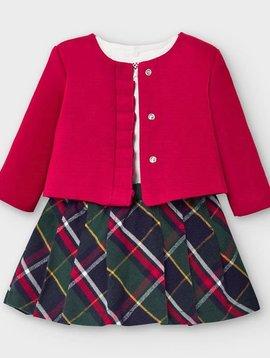 Mayoral Skirt Set with Cardigan