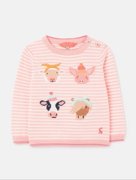 Joules Holly Intarsia Jumper