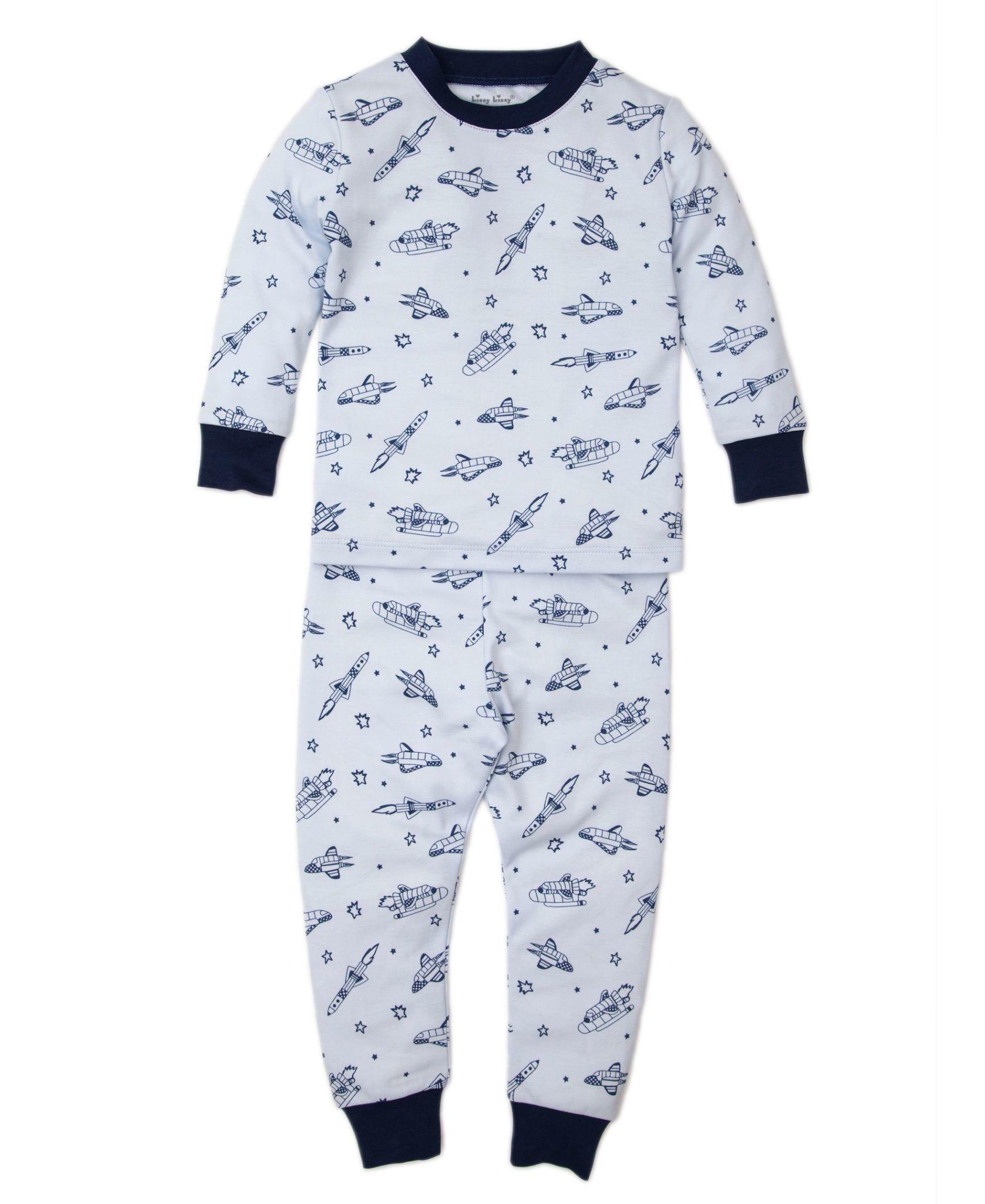 Kissy Kissy Spaceships Toddler Pajama