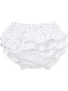 Kissy Kissy Knit Ruffled Diaper Cover
