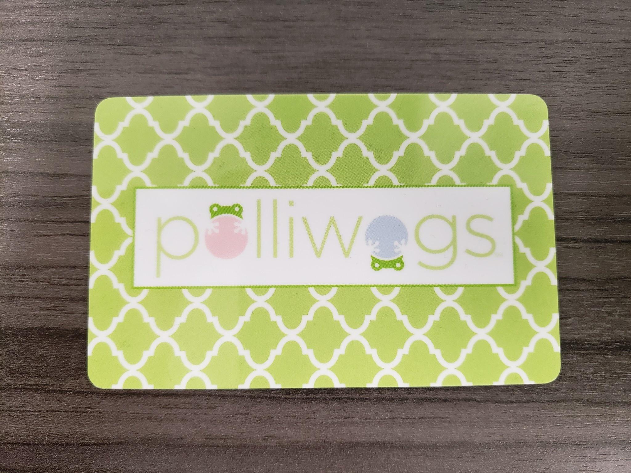 polliwogs Gift Card