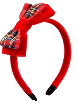 Rachel Riley Tartan Bow Hairband