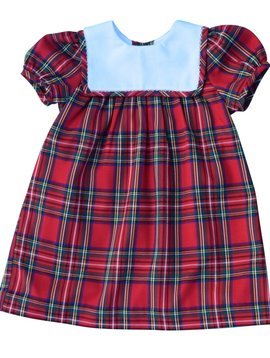 Southern Siblings Red Plaid Dress