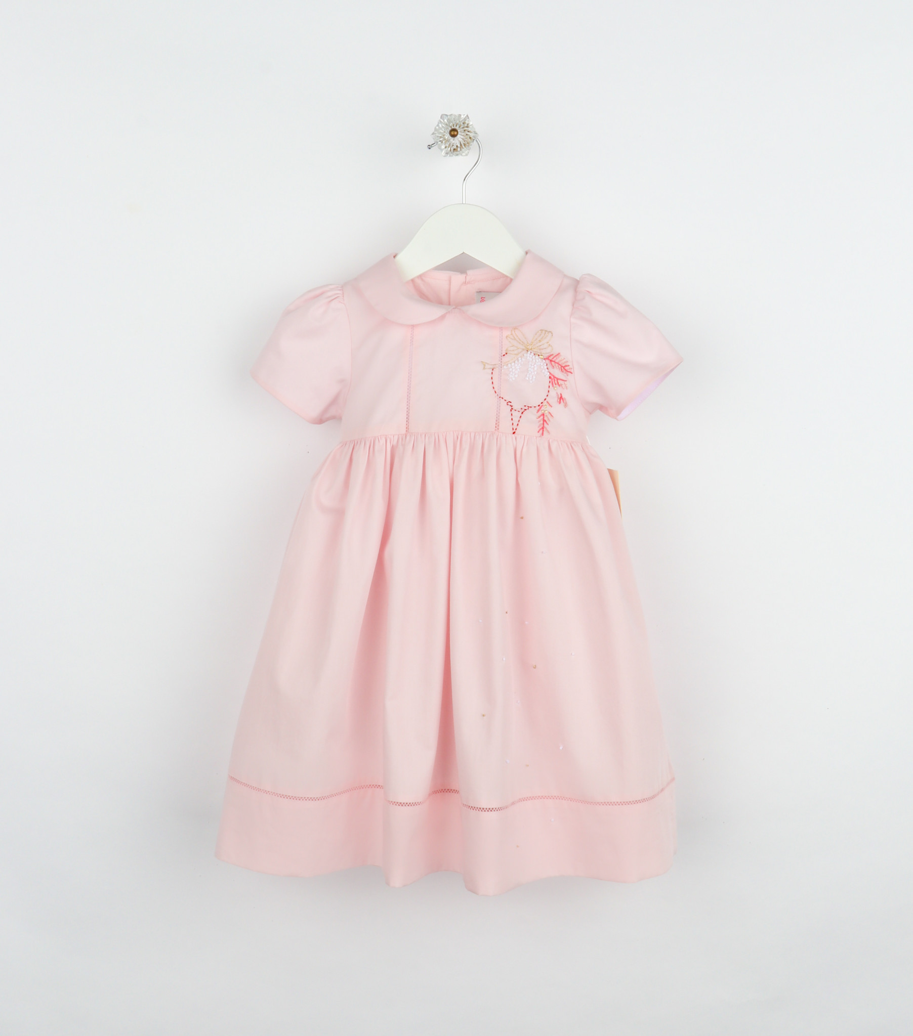 Sophie and Lucas Pink Holiday Vintage Ruffle Float