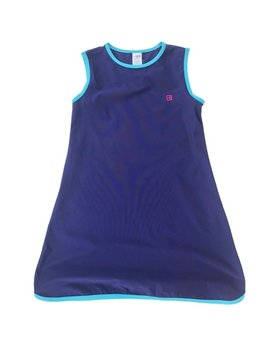 Set Fashions Navy/Teal Tinsley Tennis Dress