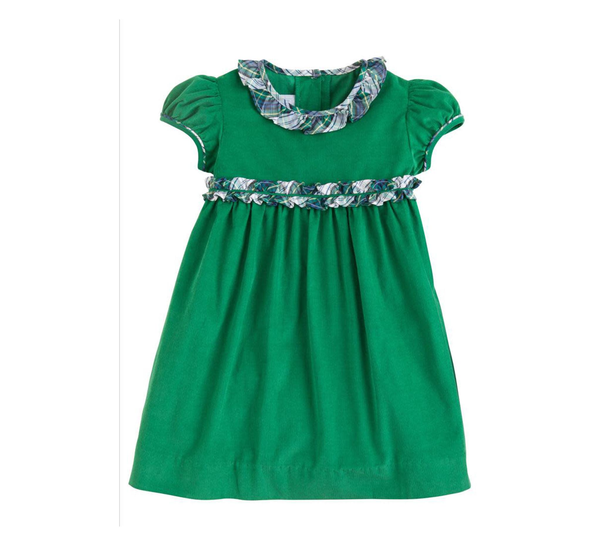 Little English Kentucky Tartan Caroline Dress
