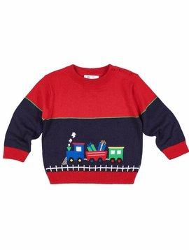 Florence Eiseman Train Crew Neck Sweater
