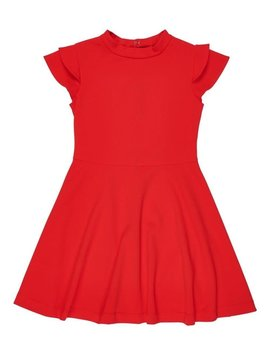 Florence Eiseman Double Sleeve Crepe Dress