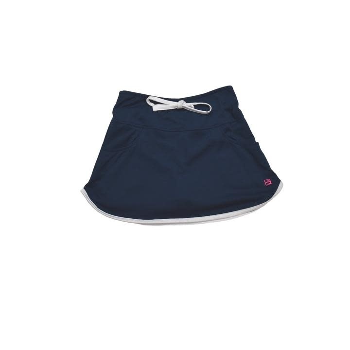 Set Fashions Navy Tiffany Tennis Skort