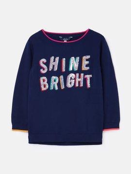 Joules Navy Shine Miranda Sweater