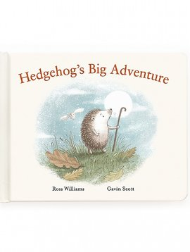 Jellycat Hedgehog's Big Adventure