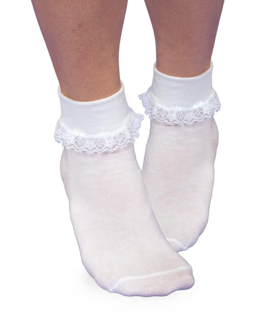 Jefferies Socks Lace Turndown