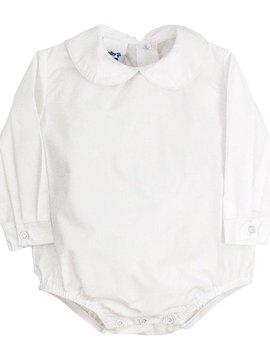 Bailey Boys Button Back Long Sleeve Onesie
