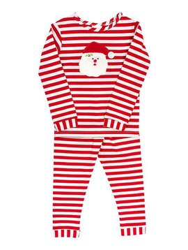 Bailey Boys Girl Santa Face Lounge Wear