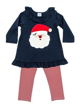 Bailey Boys Santa Face Tunic Set