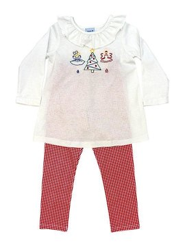 Bailey Boys Nutcracker Stitch Tunic Set